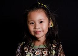 portrait of a kindergarten girl