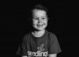 kindergarten boy portrait
