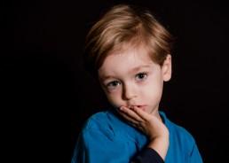portrait of a kindergarten boy