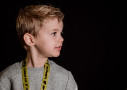 portrait of a kindergarten boy